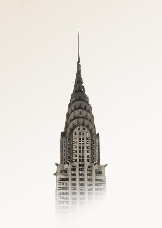 Chrysler Photograph - Chrysler Building - NYC by Nicklas Gustafsson