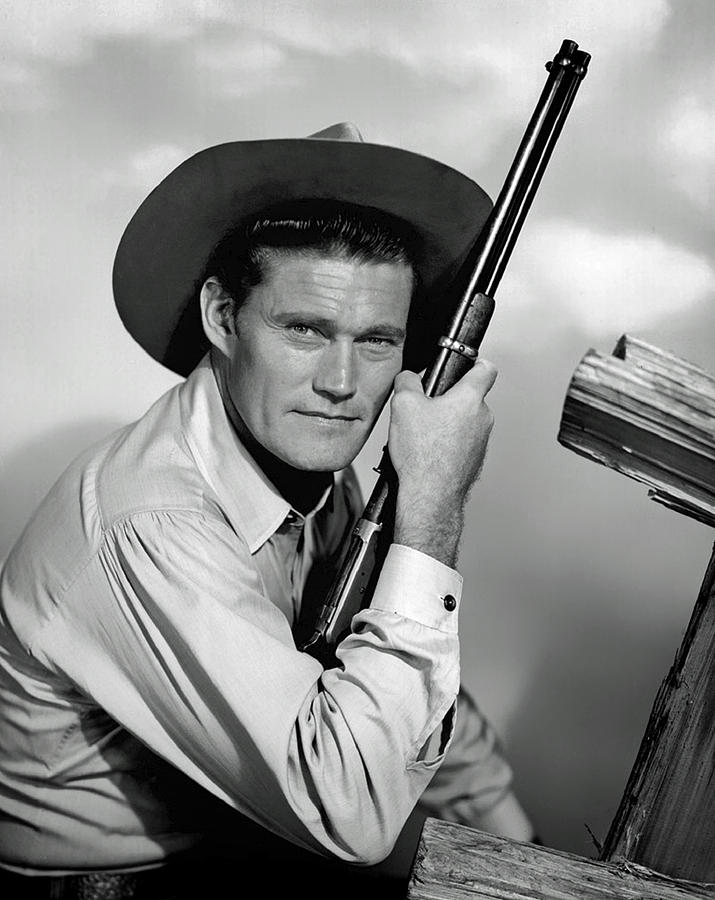 Chuck Connors Photograph - Chuck Connors - The Rifleman by Mountain Dreams