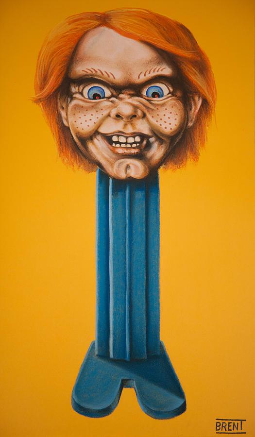 Chucky Pastel - Chucky by Brent Andrew Doty
