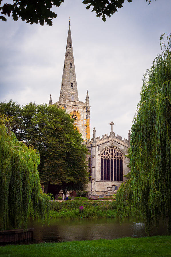 Stratford-upon-avon Photograph - Church Across The River by Trevor Wintle