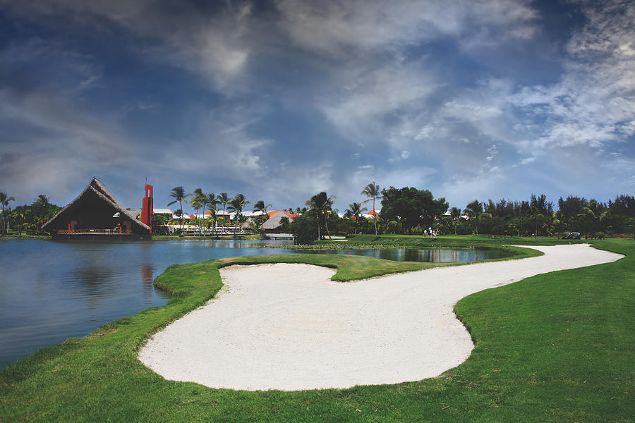 Dominican Republic Photograph - Church And Golf by Laurie Search