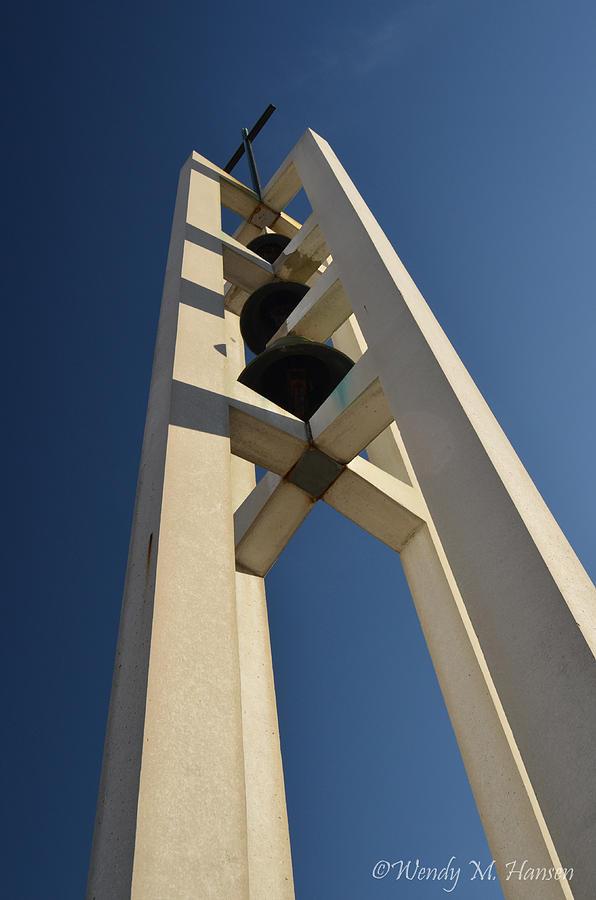 Church Photograph - Church Bells 2 by Wendy Hansen-Penman