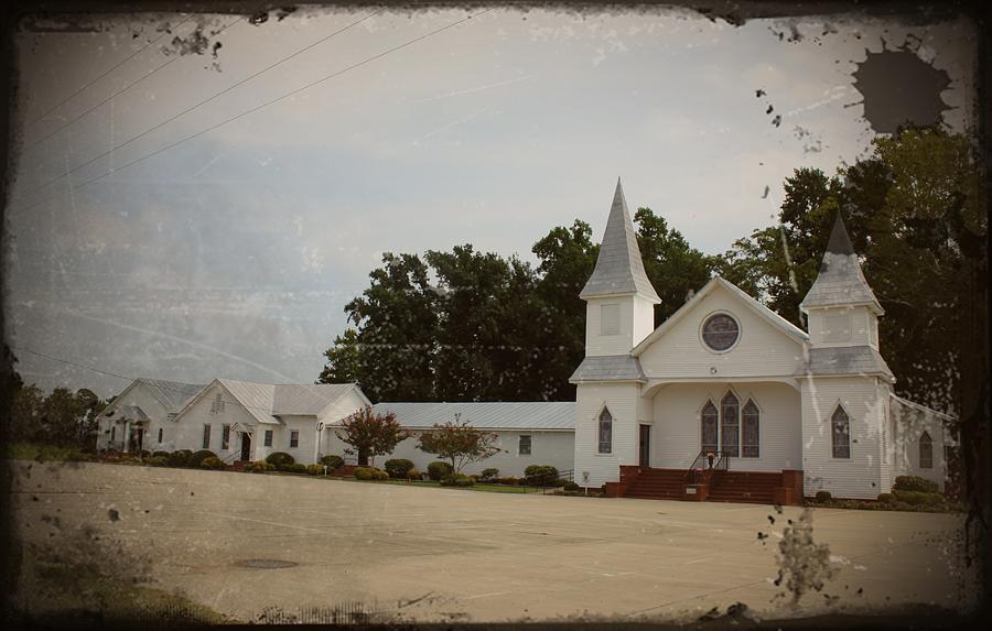Church Photograph - Church Complex by Carolyn Ricks