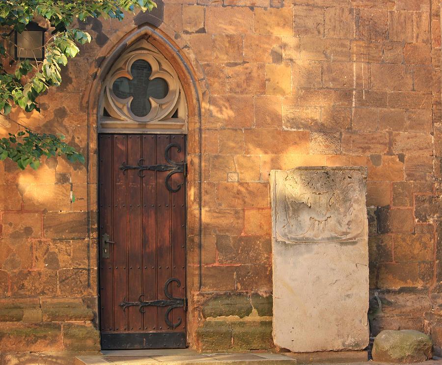 Church Door Photograph