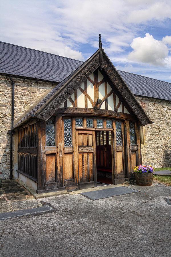 Church Photograph - Church Entrance by Ian Mitchell