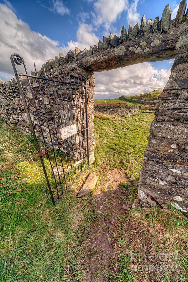Architecture Photograph - Church Gate by Adrian Evans