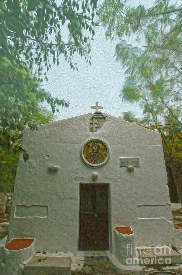 Kos Island Photograph - Church In Kos by Nur Roy
