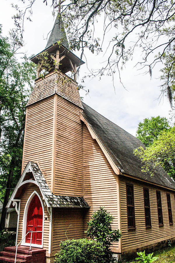 Church Photograph - Church Of Atonement by Steven  Taylor