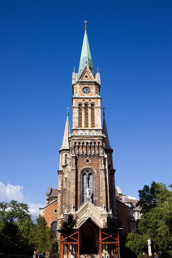 Budapest Photograph - Church Of Ferencvaros In Budapest by Artur Bogacki