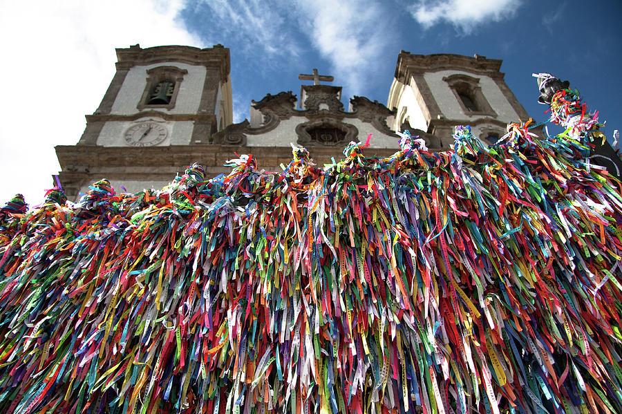 Church Of Nosso Senhor Do Bonfim Photograph by Romulo Rejon