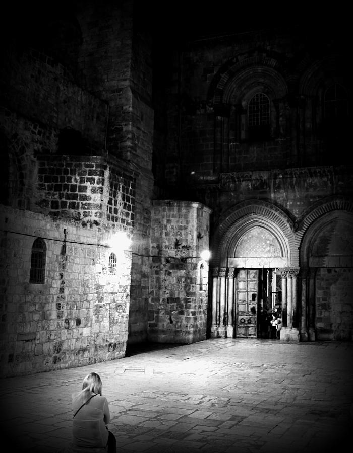 Church Photograph - Church Of The Holy Sepulchre by Amr Miqdadi