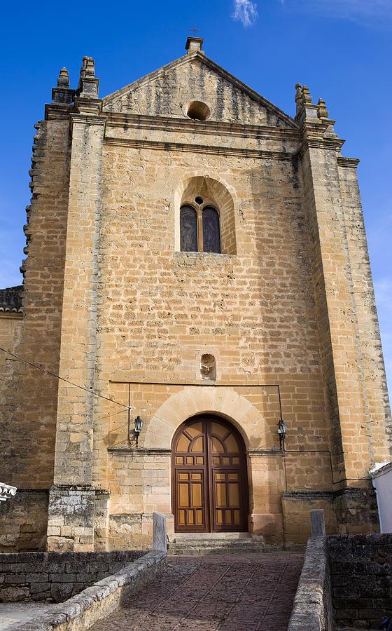 Ronda Photograph - Church Of The Holy Spirit In Spain by Artur Bogacki
