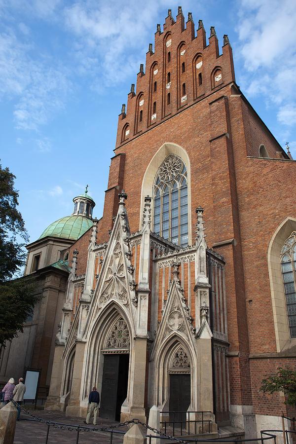 Holy Photograph - Church Of The Holy Trinity In Krakow by Artur Bogacki