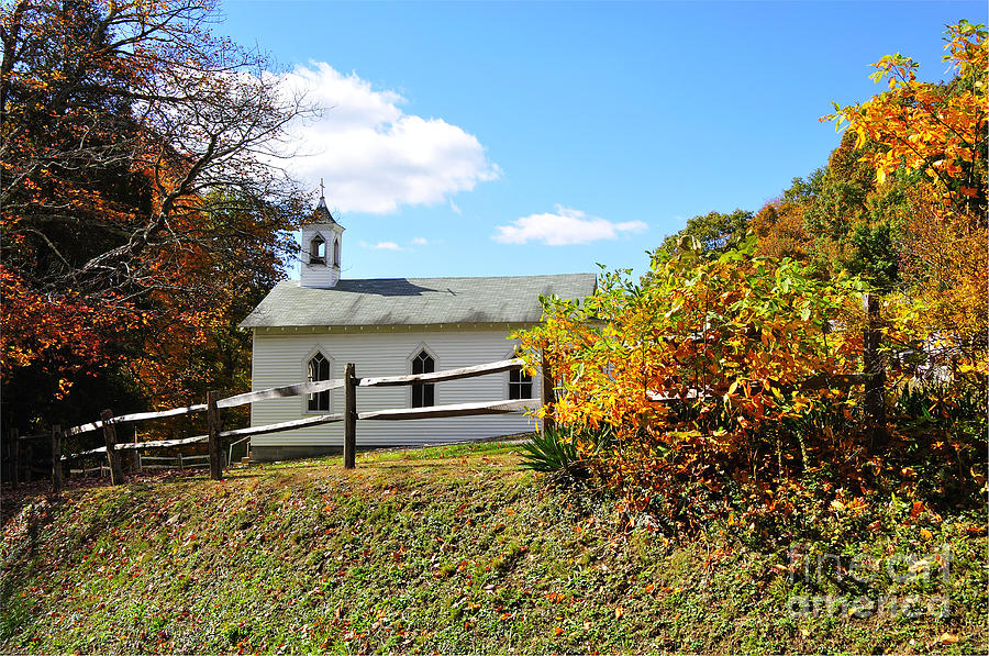 Church Photograph - Church On The Mountain by Thomas R Fletcher