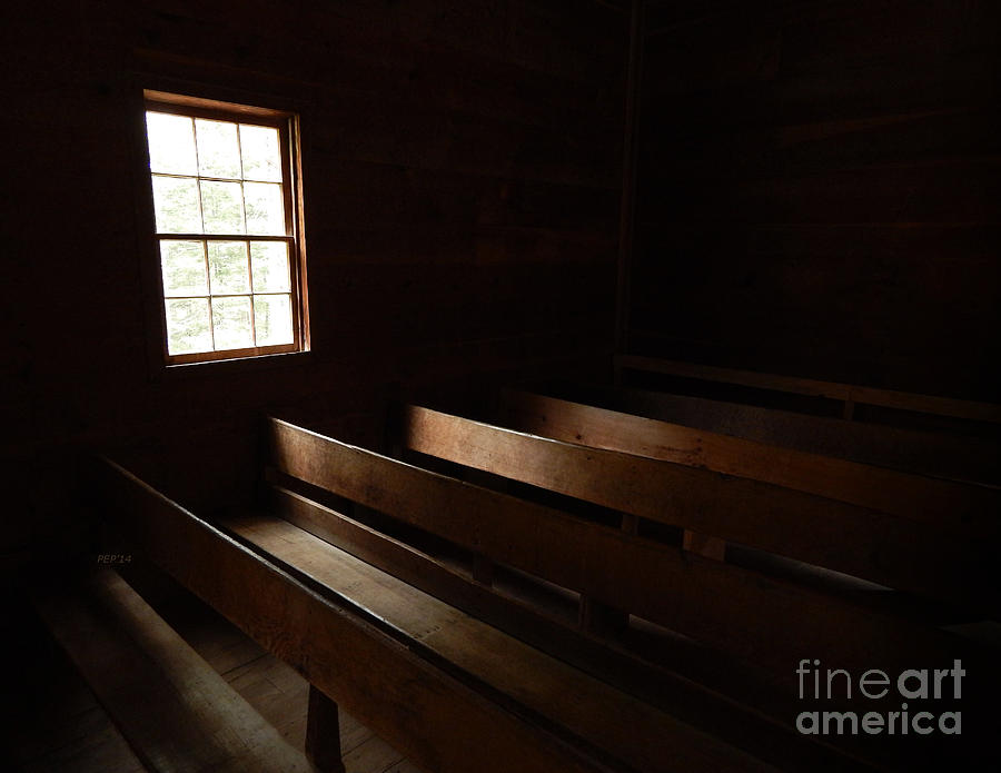 Architecture Photograph - Church Pews by Phil Perkins