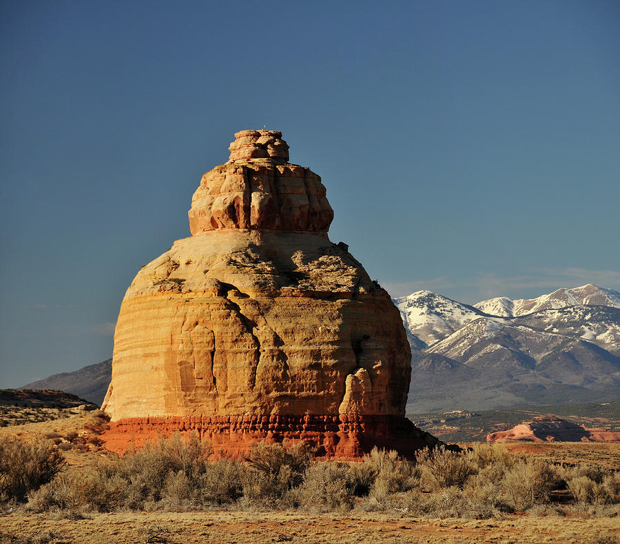 Church Rock Near The Needles District Photograph by Utah-based Photographer Ryan Houston