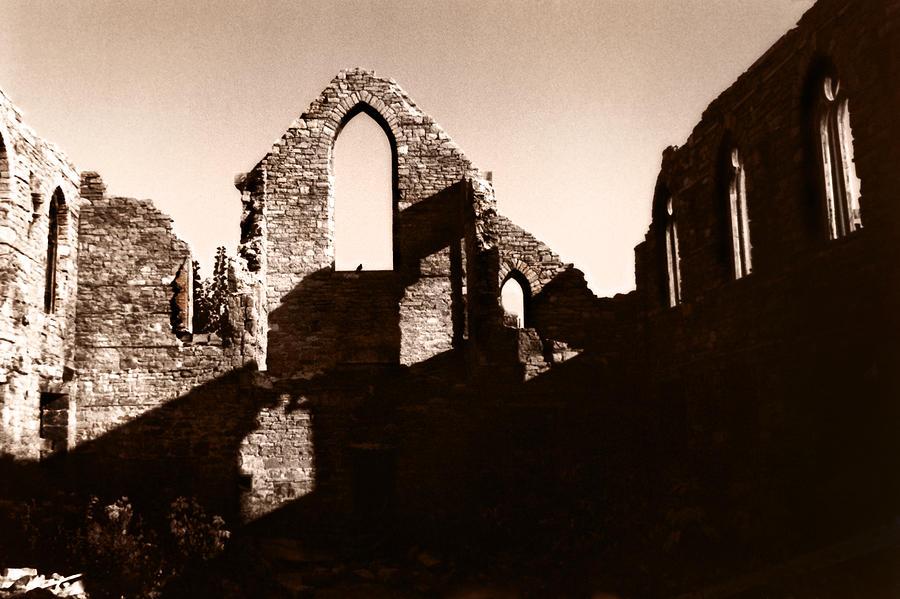 Church Photograph - Church Ruins by Trachenberg Trachenberg