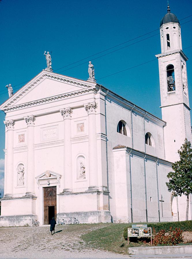Church Photograph - Church South of Bassano 1962 by Cumberland Warden