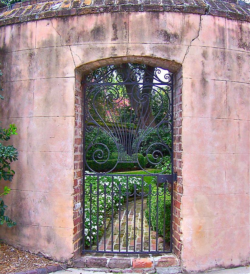 Church Street Garden Gate Photograph by Lori Kesten