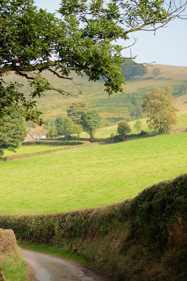 Church Stretton Countryside by Sarah Broadmeadow-Thomas