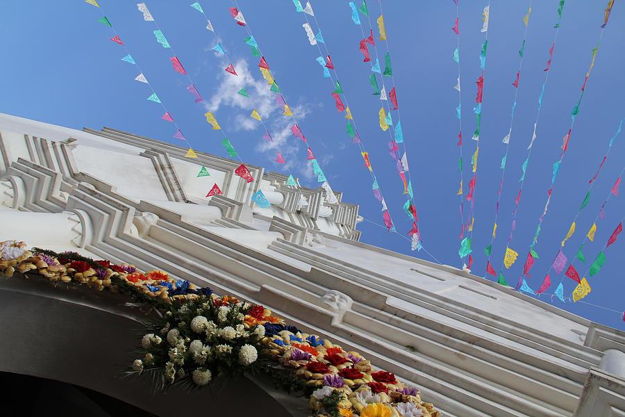 Mexico Photograph - Church Temalacatzingo Mexico by Linda Queally