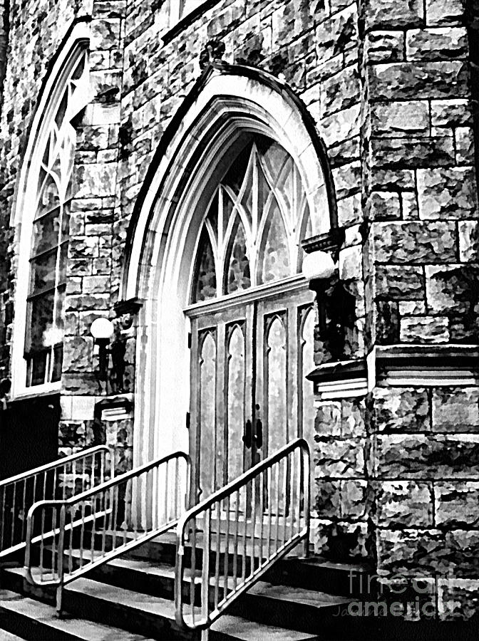 Church Photograph - Church Timeless Appeal by Janine Riley