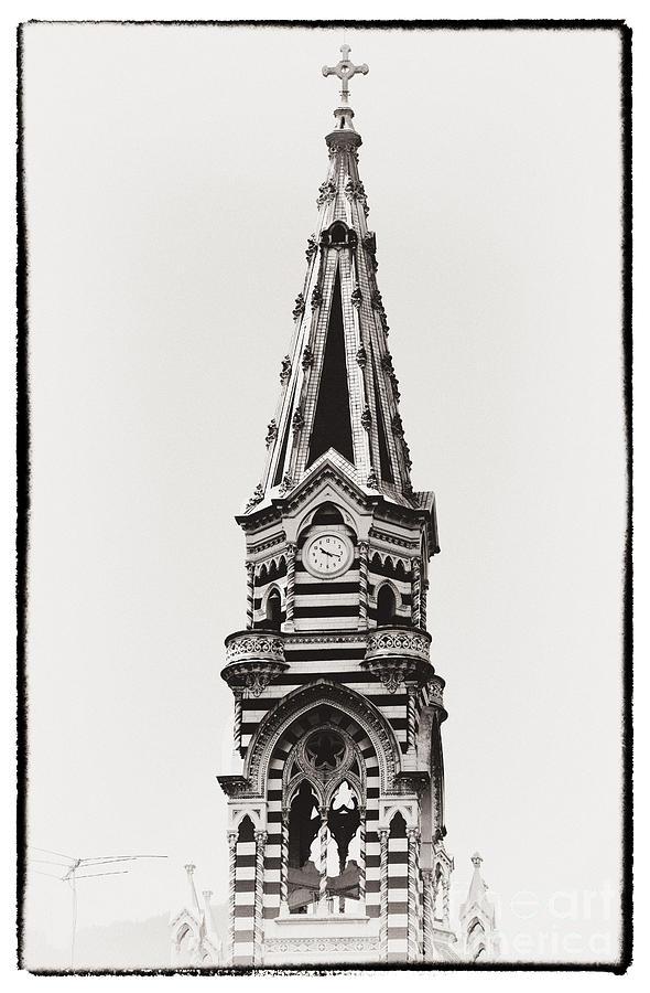 Church Tower Photograph - Church Tower by John Rizzuto