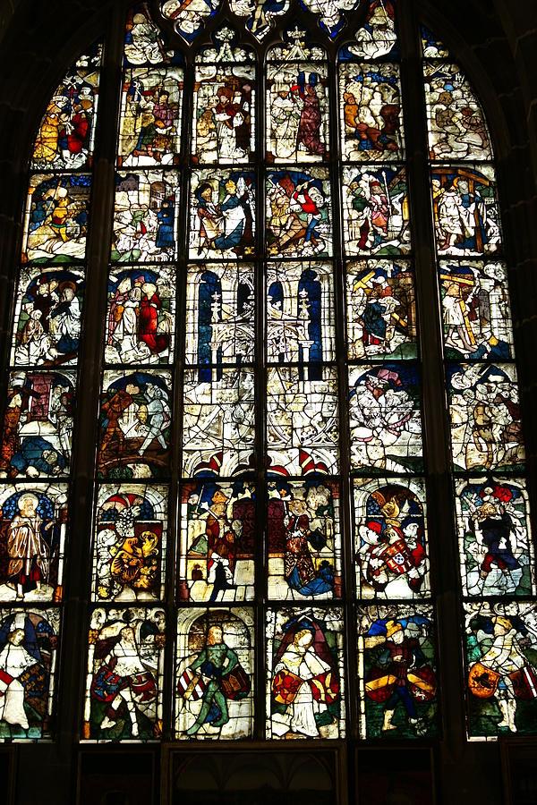 Germany Photograph - Church Window by Heidi Poulin