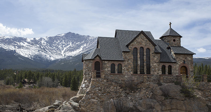 Landscapes Photograph - Church With A View by Amber Kresge