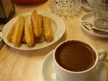 Churros y Chocolate by Kerry Jean Pennings