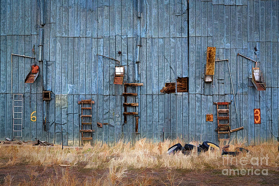 Antique Building Photograph - Chutes And Ladders by Jon Burch Photography