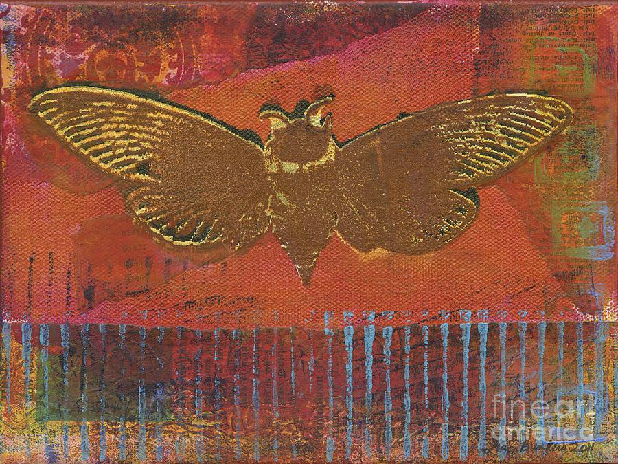 Cicada Mixed Media - Cicada by Traci Bunkers