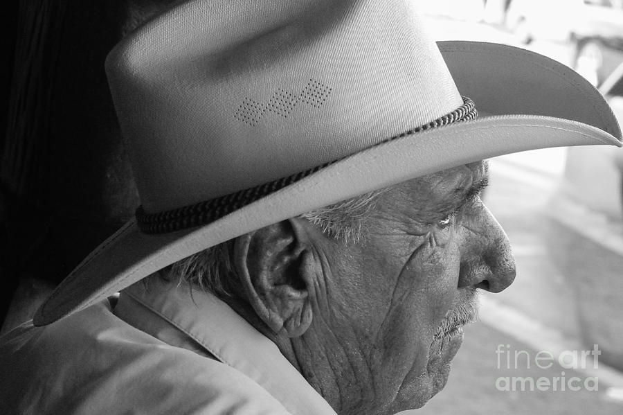 Old Man Photograph - Cigar Maker Remembering His Past by Rene Triay Photography