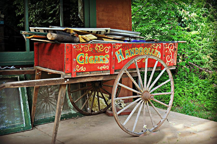 Historic Photograph - Cigar Wagon by Marty Koch