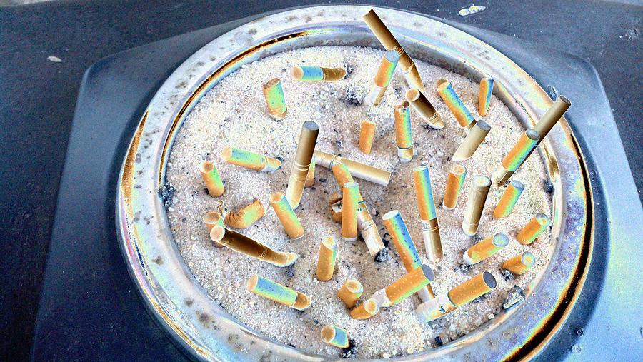 Cigarettes Photograph - Cigarette Club by Mark C Ettinger