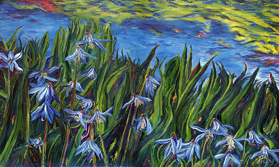 Flowers Painting - Cilia Flowers by Gregory Allen Page