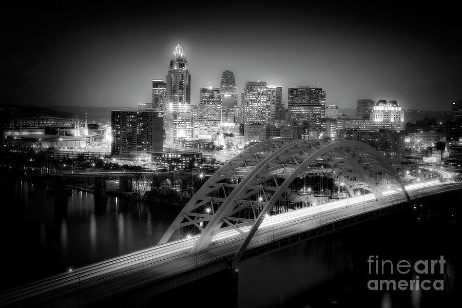 Kim Photograph - Cincinnati A New Perspective by Kimberly Nickoson