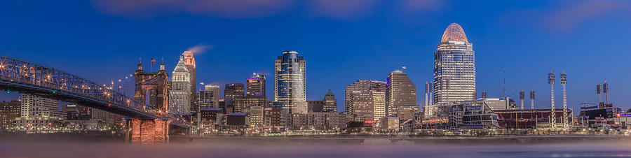 Cincinnati Morning Twilight by Keith Allen