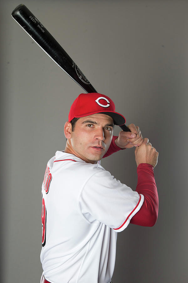 Cincinnati Reds Photo Day Photograph by Mike Mcginnis
