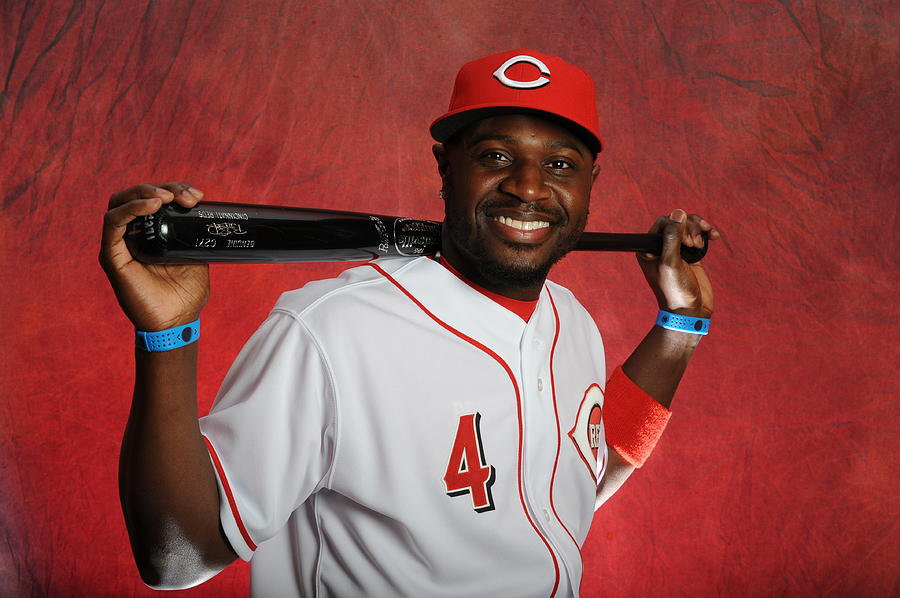 Cincinnati Reds Photo Day Photograph by Rich Pilling