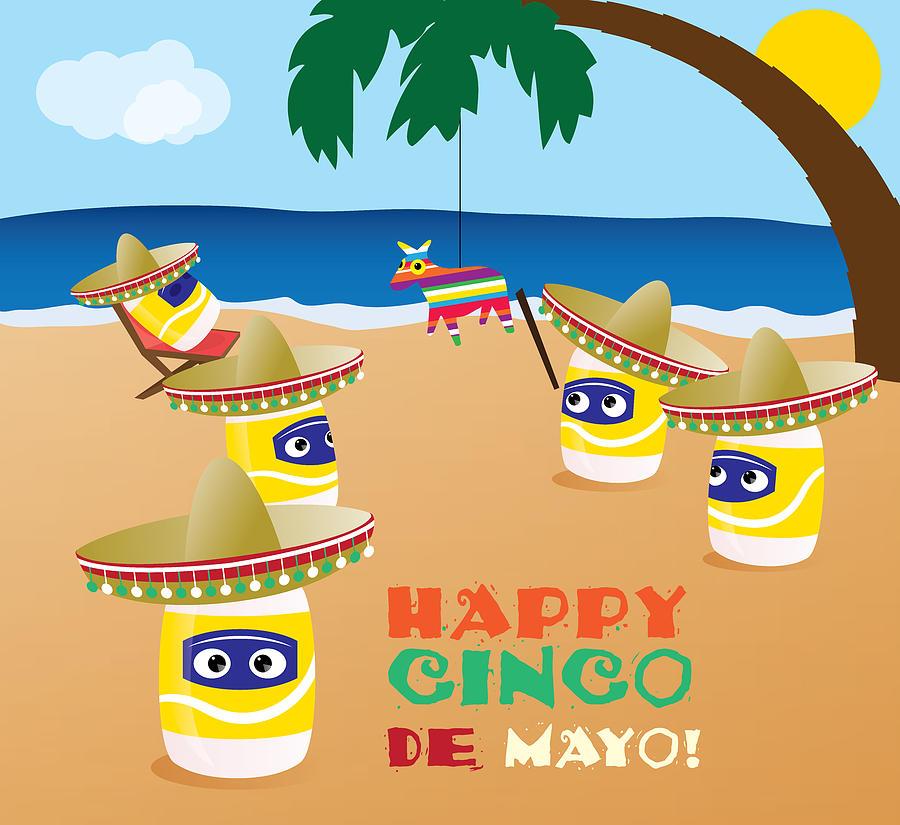 Cinco De Mayo Digital Art - Cinco De Mayo by Ashley King
