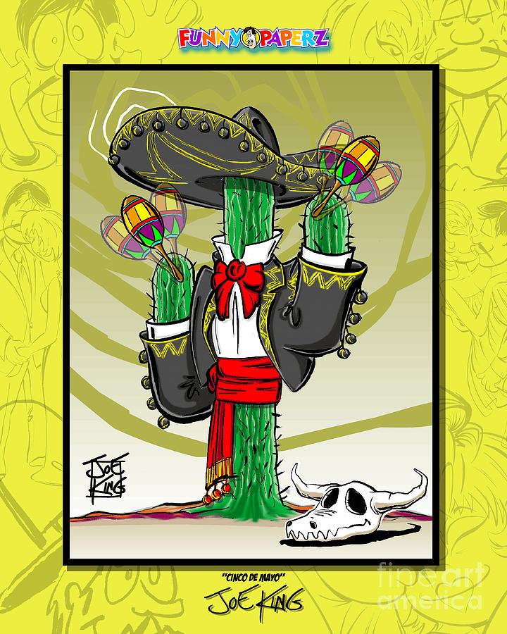 Mexico Mixed Media - Cinco De Mayo by Joe King