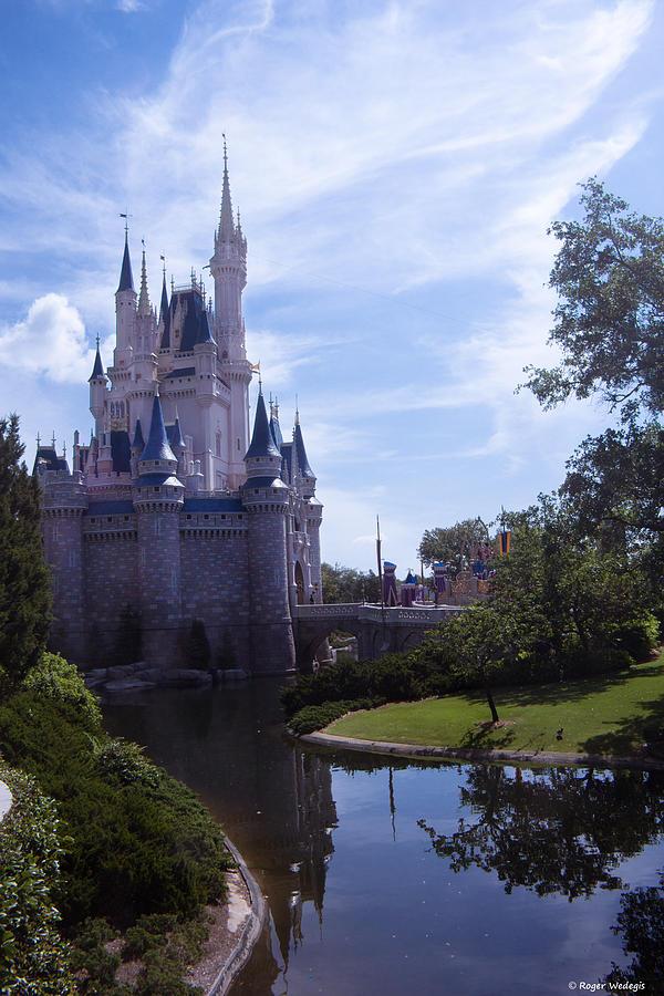 Cinderella Castle Photograph - Cinderella Castle by Roger Wedegis
