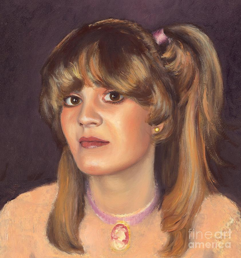 Model Painting - Cindy by Michael Swanson