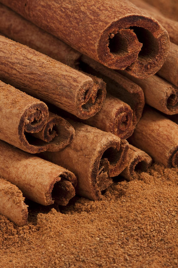 Cinamon Photograph - Cinnamon Sticks 2 by John Brueske