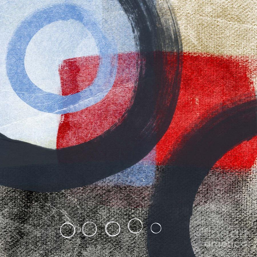 Circles Painting - Circles 1 by Linda Woods
