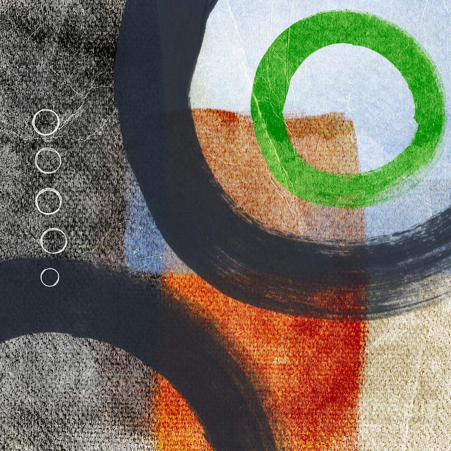 Circles Painting - Circles 2 by Linda Woods
