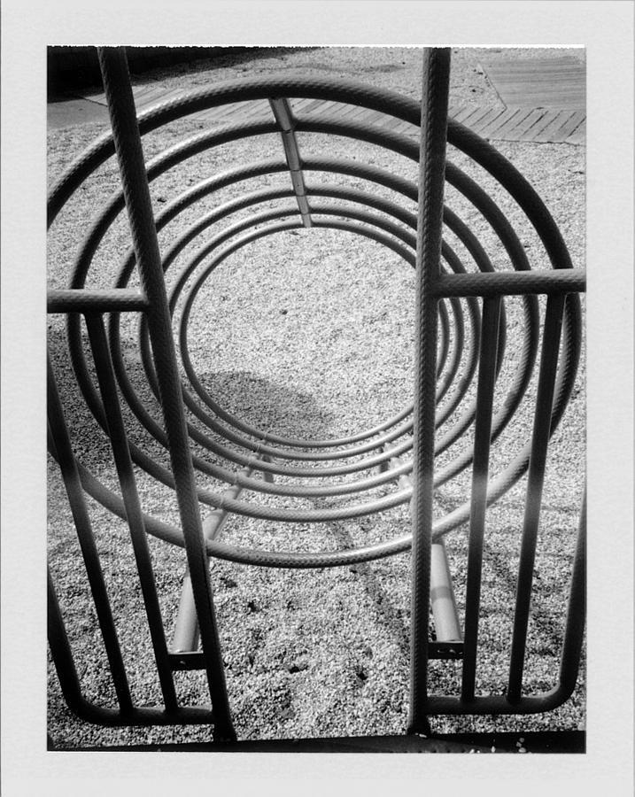 Playground Photograph - Circles by Brady D Hebert