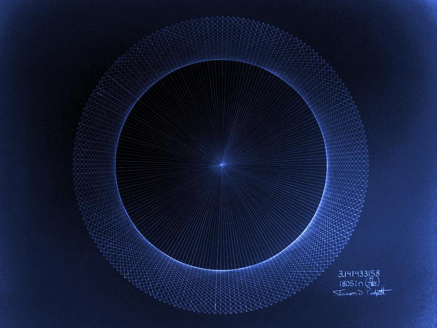 Circles Don't Exist Pi 180 by Jason Padgett