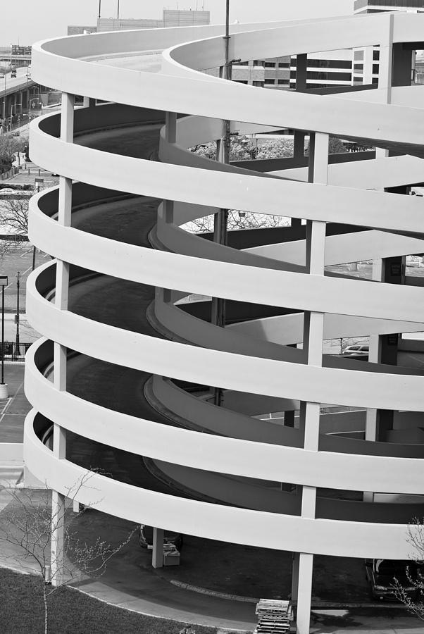 Parking Photograph - Circular Parking Place by Devinder Sangha